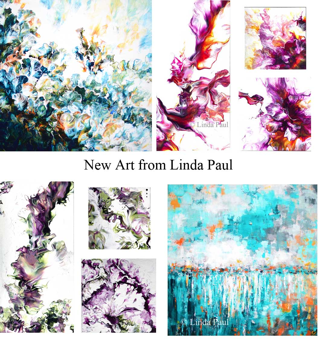new paintings from Linda paul