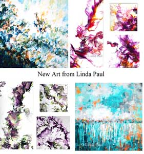 new paintings from Linda pual