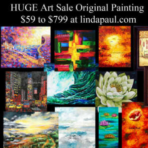 huge art sale