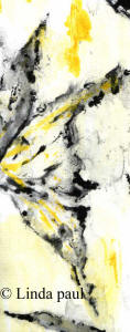 yellow and grey and white abstract art