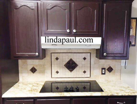 backsplash idea on a budget