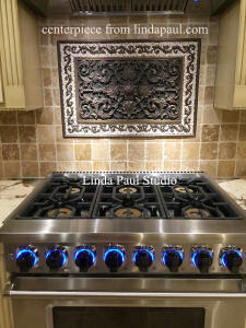 ravenna medallion kitchen backsplash installation