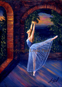 original ballet paintings