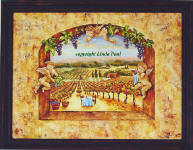 original angel and vineyard painting