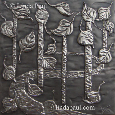 nickel silver stainless plaque centerpiece