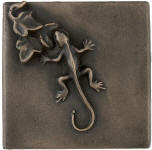 gecko metal accent tile