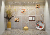 tuscan accent tiles