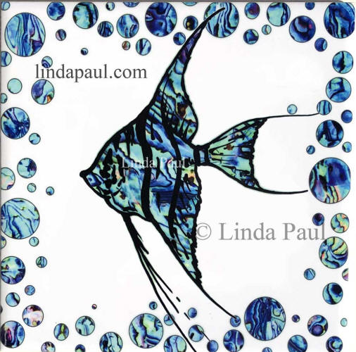 horizontal fish tile
