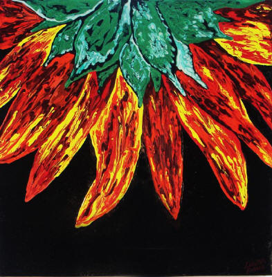 sunflower decor art  painting