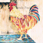 rooster backsplash tile accent