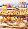 baskets of food