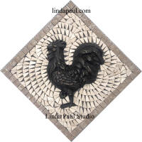 rooster chicken small medallion