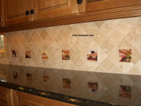 accent tiles from The Vineyard and Tuscany Arch