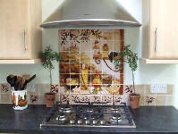 tuscan kitchen backsplash design