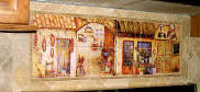 tuscan village installed mural