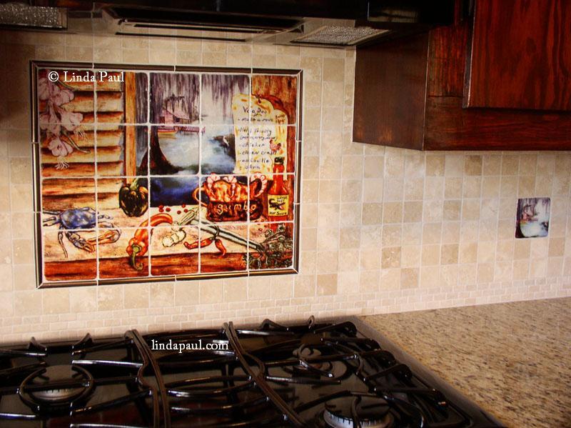 louisiana kitchen tile backsplash cajun decorative tiles image of