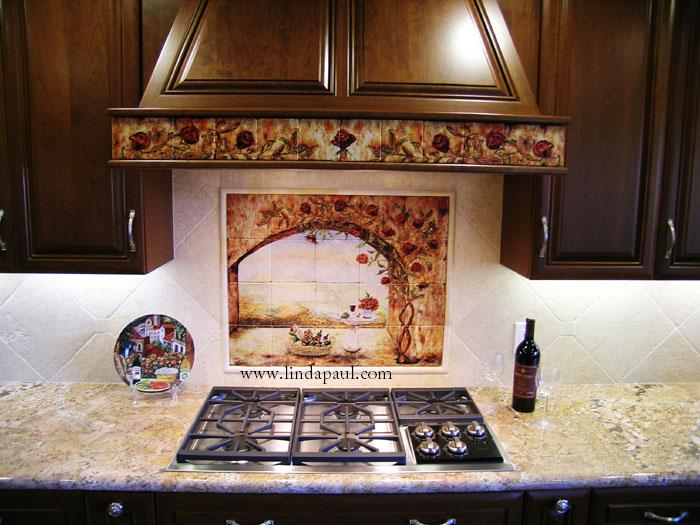 Slate Tile Kitchen