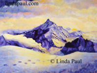mountain landscape painting