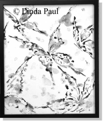 black and white art wall decor