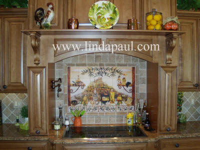 Italian kitchen backsplash tiles