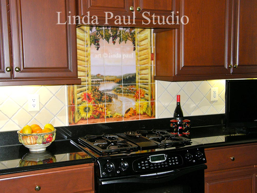 Customer Reviews Of Linda Paul Tile Murals Kitchen Backsplashes Customer Reviews Of Linda Paul Tile Murals Kitchen Backsplashes