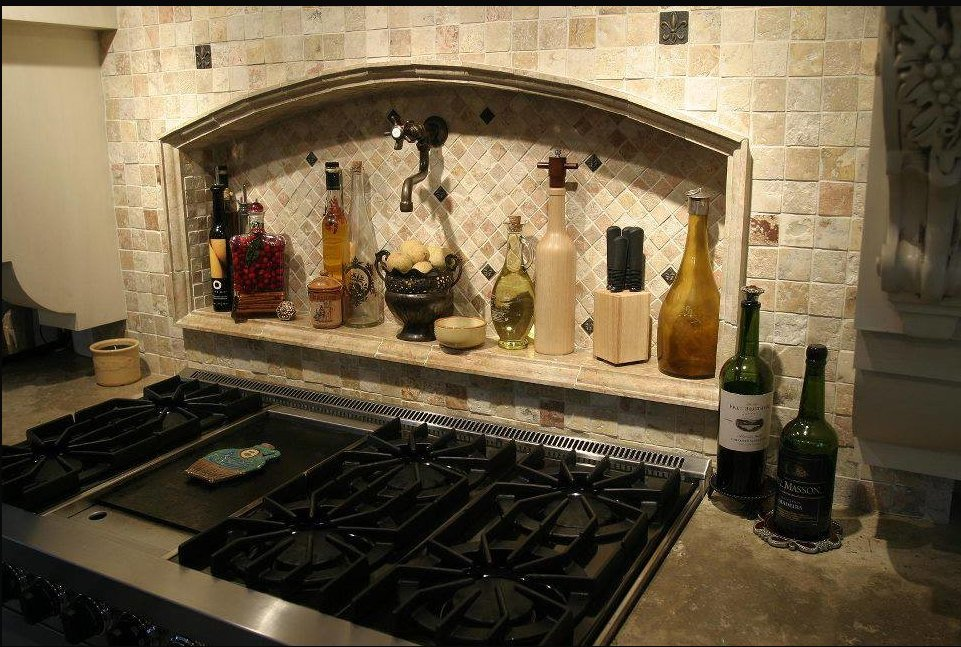 Kitchen backsplash pictures ideas and designs of backsplashes - Kitchen tile backsplash design ideas ...