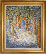 Impressionist french painting