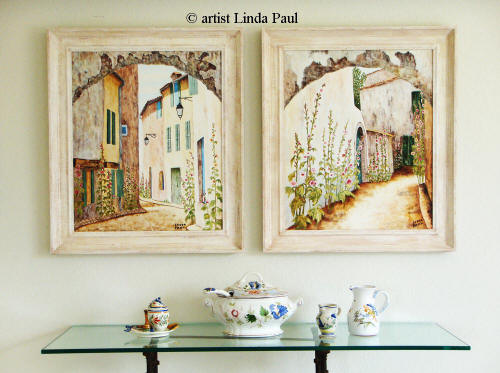 French Country Art paintings