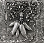 bunch of carrots metal decorative tile