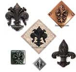 fleur de lis Landmark collection from Linda paul Studio
