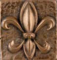 metal tile sample bronze high polsih