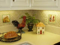 decorative tile accents